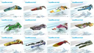 WipEout HD Teams Collage by FEISAR-CSY