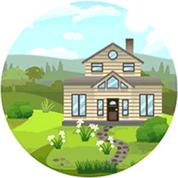 TS4 Blossom Meadows World Icon (Gif) (Fan Art) by HazzaPlumbob