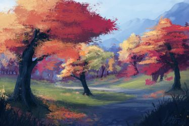 Autumn by fakeplasticcats