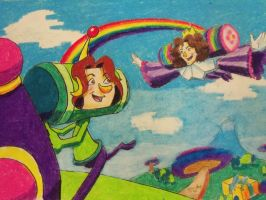 Game Grumps Katamari by LaundryPile