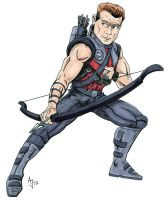 Avengers: Hawkeye by AtlantaJones