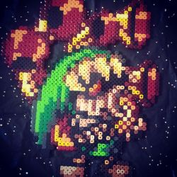 Deku Link Bead Sprite by Karma-Pudding