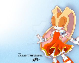 Cream the rabbit by Kate-V