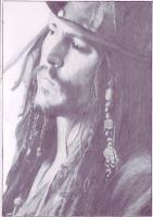 Jack Sparrow by Devil-of-neurosis