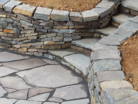Lithadelic Steps, Flowing Stone by Devine-Escapes