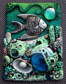 Coral Reef ACEO by MandarinMoon