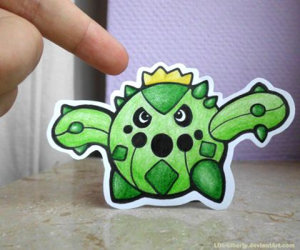 Never touch an angry Cacnea. by LOL-Liberty