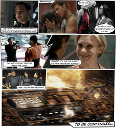 Battlestar Galactica Comic Test by Hayter