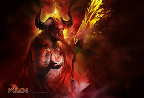 classic demon - Eyes of Urzul by tomafeizogas