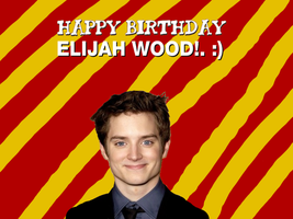 Happy Birthday Elijah Wood! by Nolan2001