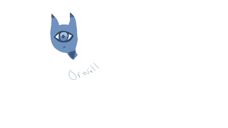 Say hello to Orwill aka Goggles by WaferDoesArt