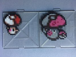 #590-#591 Foongus and Amoonguss Perlers