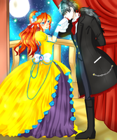 Collab with Sakudrew - Cykesquill Victorian by Minouze