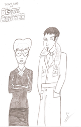 Daria and Trent as Rachel and Deckard by JimmyTwoTimes2K9