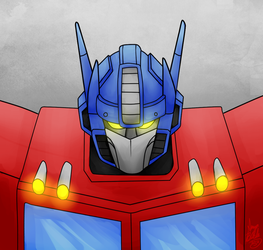 Rescue November Day 27: Optimus by SAMMYBLADE1995