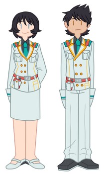 Dress Uniform Rangers by Bast13