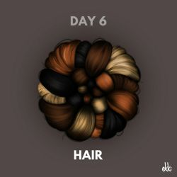Day 6: Hair by ekkiart