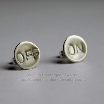 Off and On Again - Earrings by soundinnovation