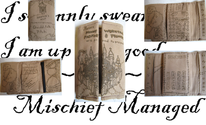 Marauder's Map Wallet by LixyAmi