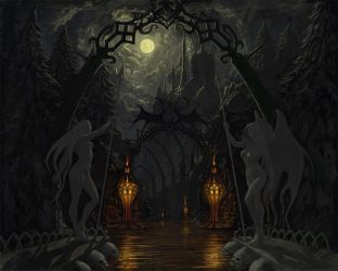 The Gates of Night by Xeeming