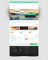 LindeN company WordPress theme by Bob-Project