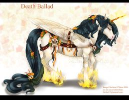 Death Ballad Demon Horse by frisket17