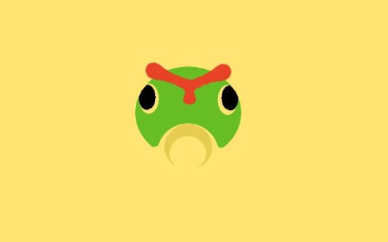Caterpie t-shirt design by StreakdWindowPaine