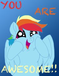 You Are Awesome! by Zee-Stitch