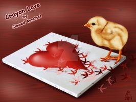 Crayon Love by Annezon