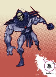 Skeletor by 600poundgorilla