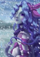 Winter OC contest entry by orchidkitty