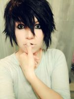 L Costest - Death Note by HitomiHatake