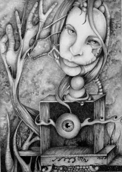 The Visionary by the-surreal-arts