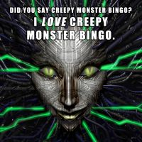 Creepy Monster Bingo by DeepChrome
