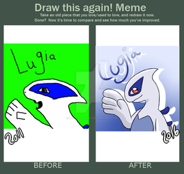 Draw This Again Meme Lugia by Tails-Crossing