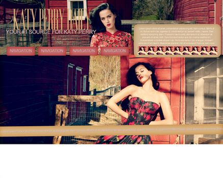 Katy Perry Layout by iskous
