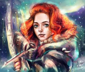 Kissed by fire by manulys