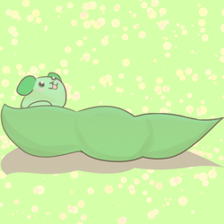 Pea pod dog by TheDawnDragon
