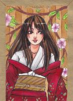 Aceo Card #68 - Tori by LunaLunett