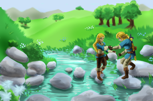 Breath Of The Wild by SquirtSapphire