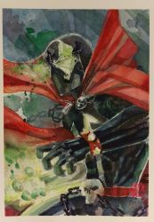 Spawn Watercolor by dreamflux1
