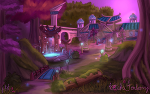 World of Warcraft - Teldrassil by TaraOBerry