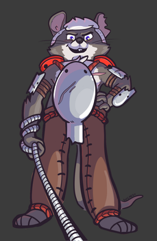 Commission: RatSlayer by Lucheek