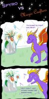 Spyro vs Magic Crafters by Fyre-Dragon