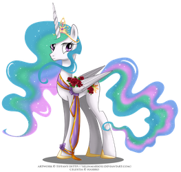 May Festival Pony - Celestia by tiffanymarsou