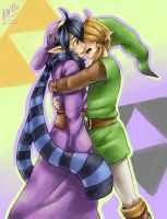 Now, kiss me [tLoZ LinkxRavio] by Edo--sama