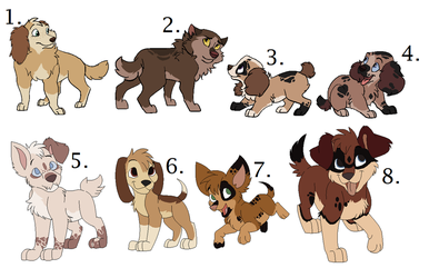 More Pup Adopts OPEN by Claire-Cooper