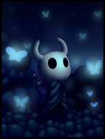 Hollow Knight by 0-RedBird-0