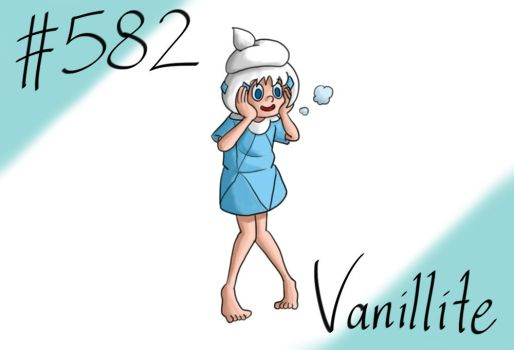Pokemon Gijinka Project 582 Vanillite by JinchuurikiHunter