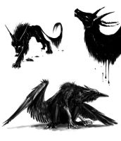 Inky Doodles by Dygee